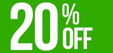 offerta_20% OFF NOT REFUNDABLE