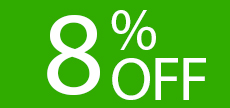 offerta_Not Refundable 8% OFF