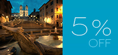 offerta_5% DISCOUNT 1 NIGHT
